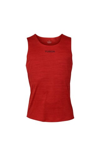 Fusion FUSION C3  Training Singlet - Red - Heren