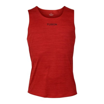 FUSION | C3 Training Singlet | Red | Heren
