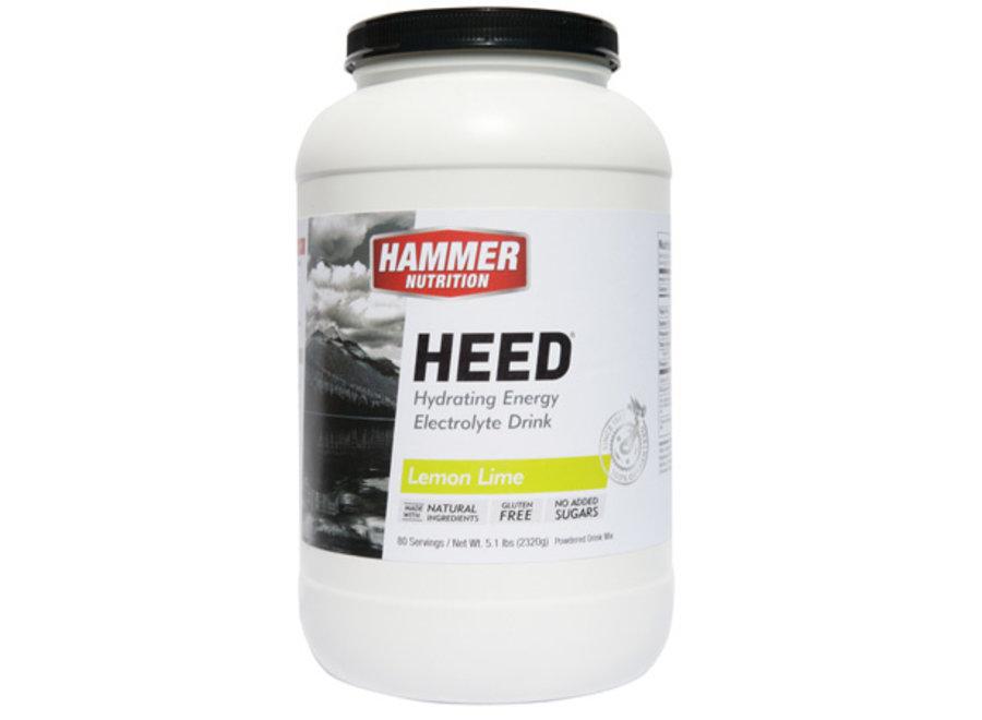 Hammer Heed 80 Servings Lemon Lime