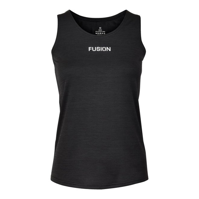 FUSION | C3  Training Singlet | Black | Dames