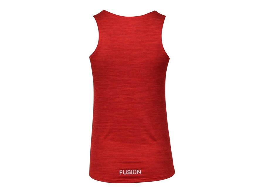 FUSION C3  Training Singlet - Rood - Dames