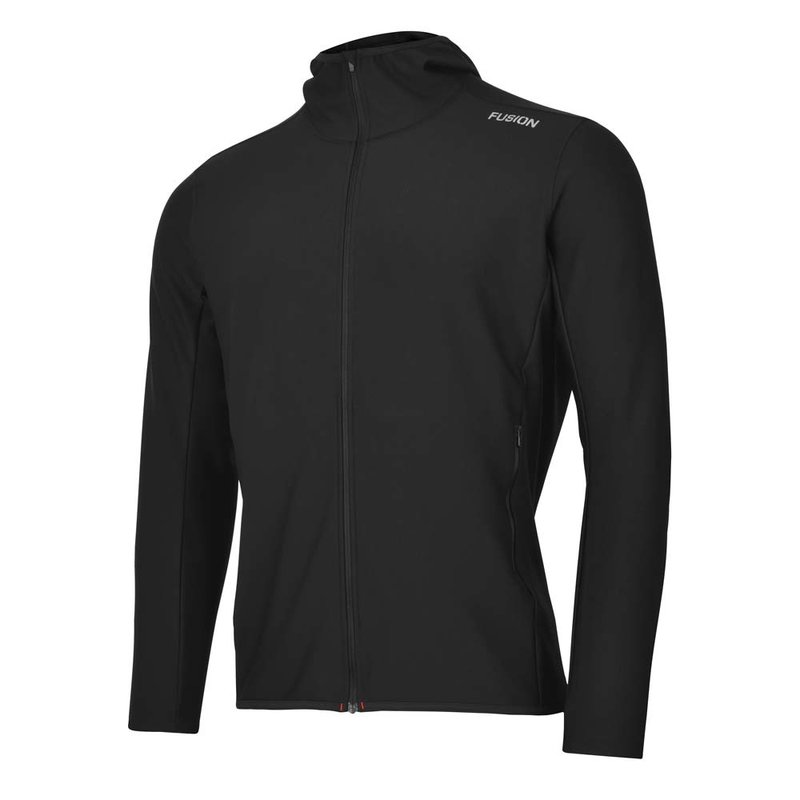 FUSION Fusion   ReCharge Hoodie   Black   Heren