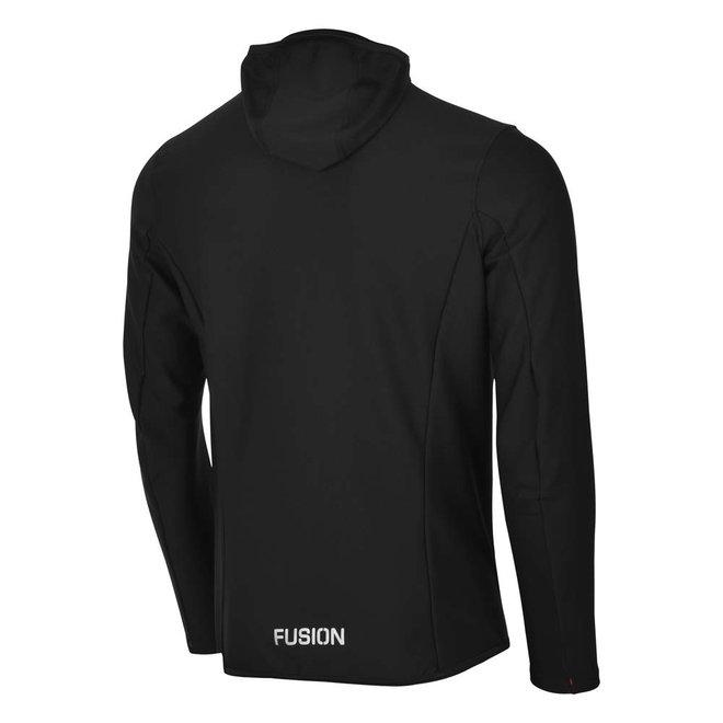 Fusion | ReCharge Hoodie | Black | Heren