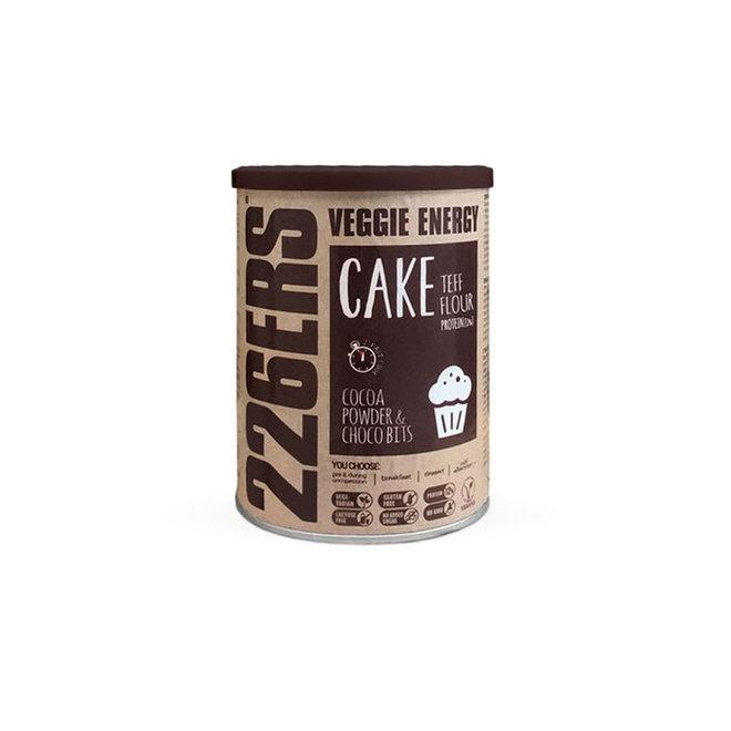 226ERS | Veggie Energy Cake | Teff & Choco Bits