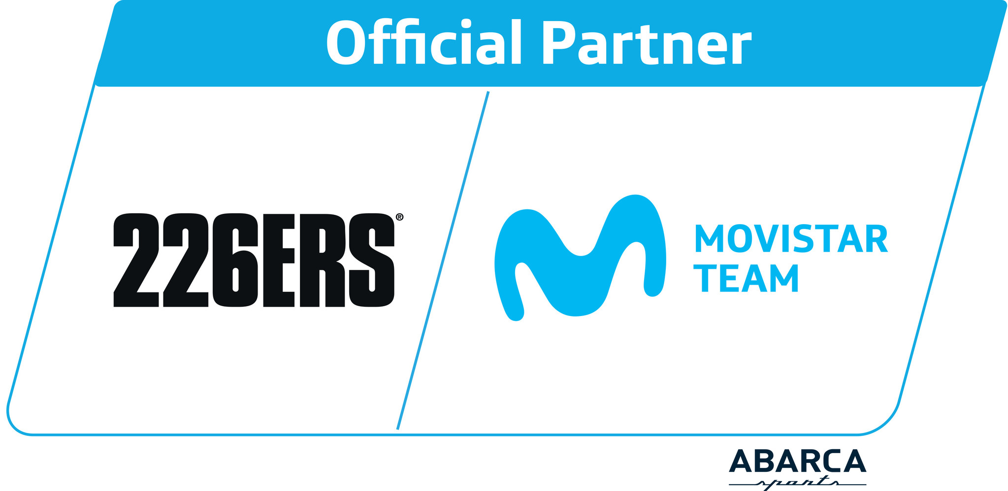 226ERS partner van Movistar Cycling Team