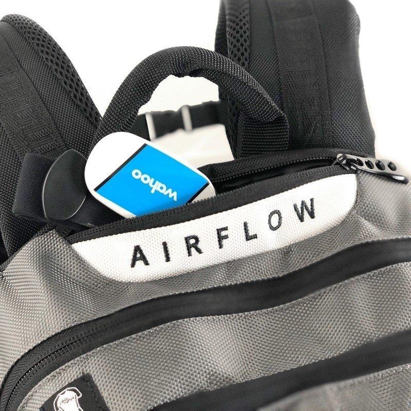 Cádomotus  Cádomotus | Airflow XL | Rugzak | Grijs Rood
