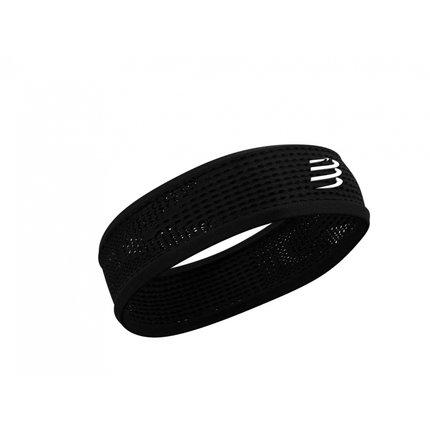 Compressport | Thin Headband | Black