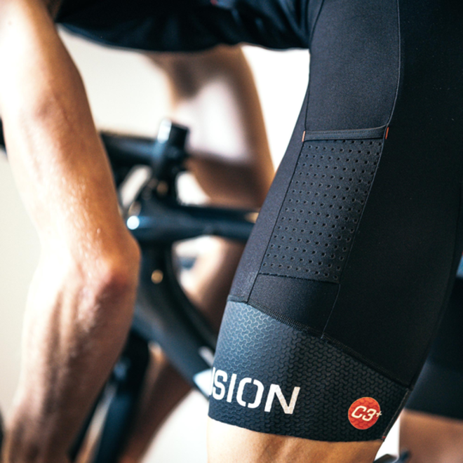 Fusion | C3+ Cycle Bib | Pocket | Heren