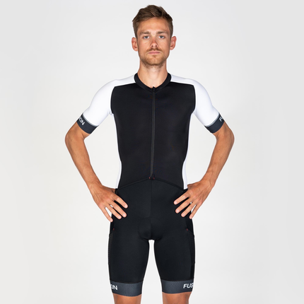 Fusion | Speed Suit V2 | Black/White