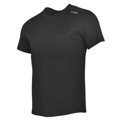 Fusion | Nova T-Shirt | Black | Heren