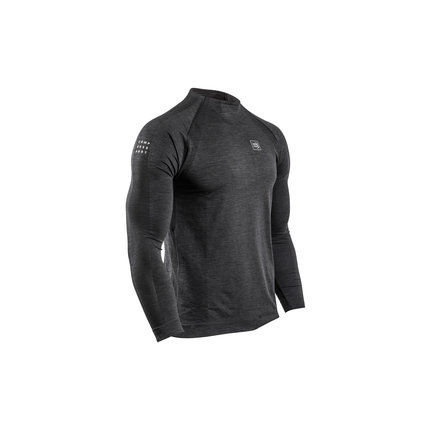 Compressport | Training Long Sleeve | Black | Heren