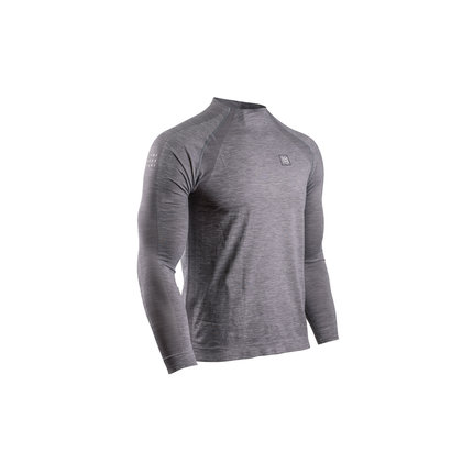 Compressport | Training Long Sleeve | Grey | Heren