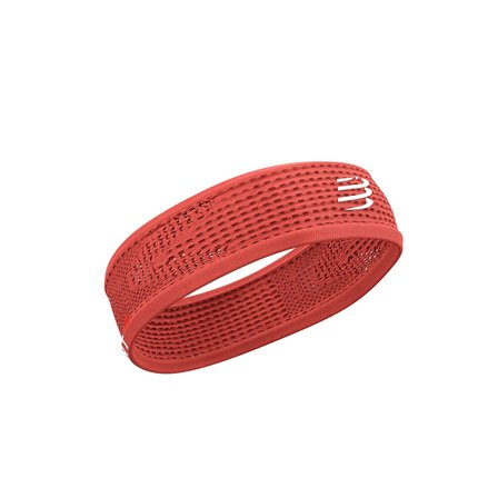 Compressport | Thin Headband | Coral