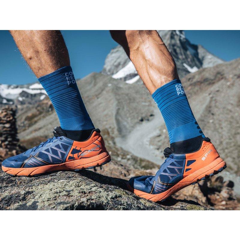 Compressport Compressport | Mid Compression Socks | Blue Lolite