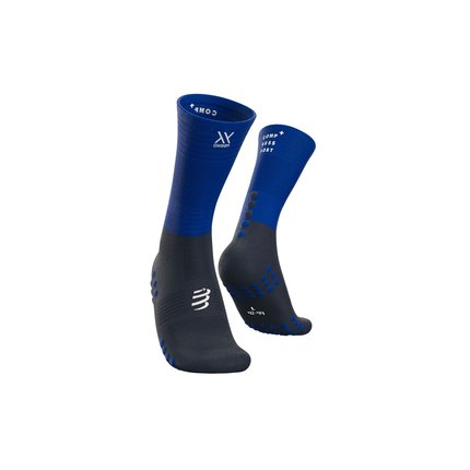 Compressport | Mid Compression Socks | Blue Lolite