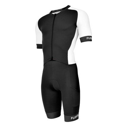 Fusion | Speed Suit V2 | Black/White