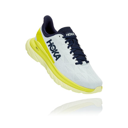 Hoka One One | Mach 4 | Heren | Blue Flower