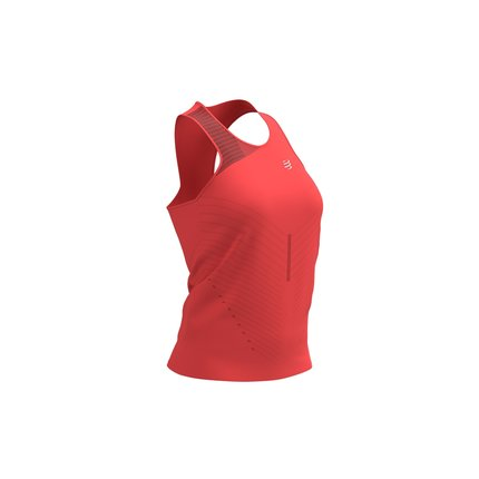 Compressport | Performance Singlet | Coral | Dames