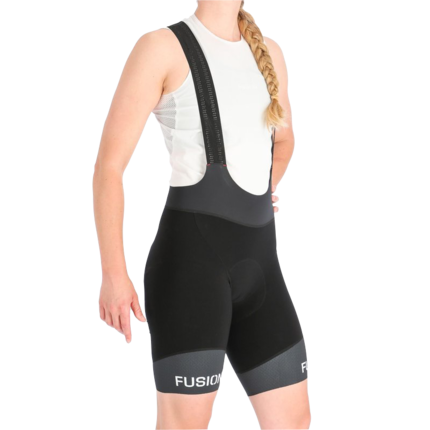 Fusion | SLi Cycle Bib | Black | Dames