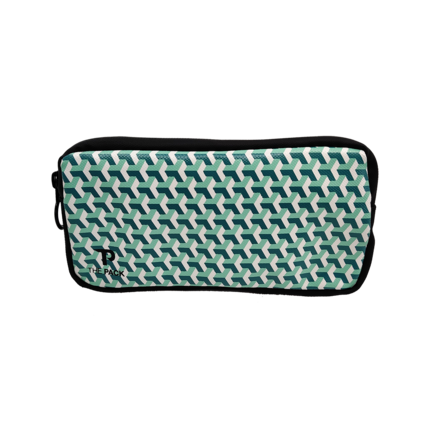 The Pack Essentials | Fietscase | Green Blocks