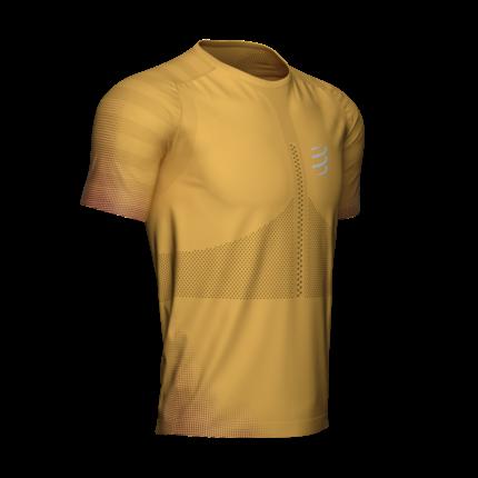 Compressport | Racing SS T-Shirt | Honey Gold