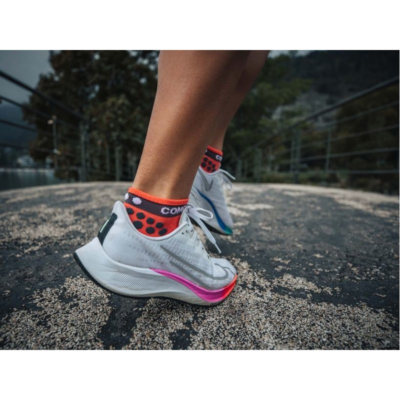 Compressport Compressport | Pro Racing Socks Run Low | Coral