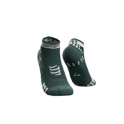 Compressport | Pro Racing Socks Run Low | Silver Pine