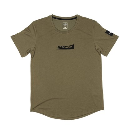 Saysky | Box Motion T-shirt | Heren | Capers Green