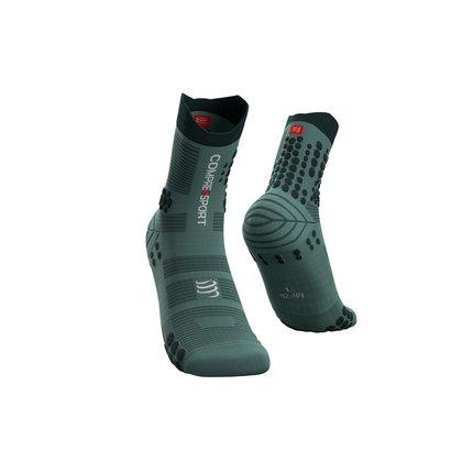 Compressport | Pro Racing Socks Trail | Silver Pine