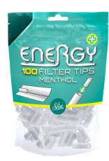 Energy + Filtertips menthol