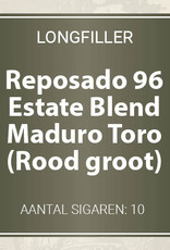 Reposado Estate Blend Maduro Toro longfillers (Rood, groot)
