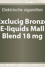 Exclucig Bronze E-liquids Mall Blend 18 mg