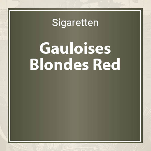 Gauloises  Blondes Red