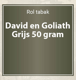 David en Goliath Grijs 50 gram