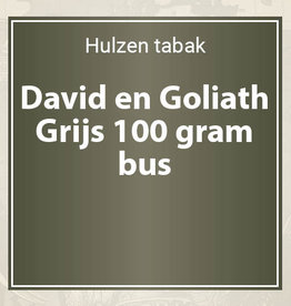 David en Goliath Grijs - 100 gram