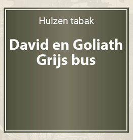 David en Goliath Grijs
