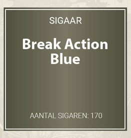 Break Action Blue - Filter Cigarillos