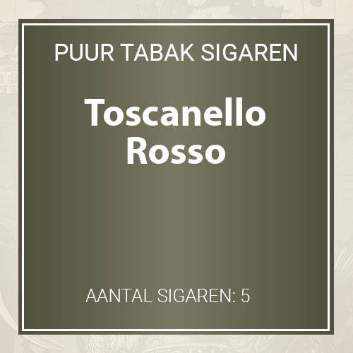 Toscano Rosso sigaren