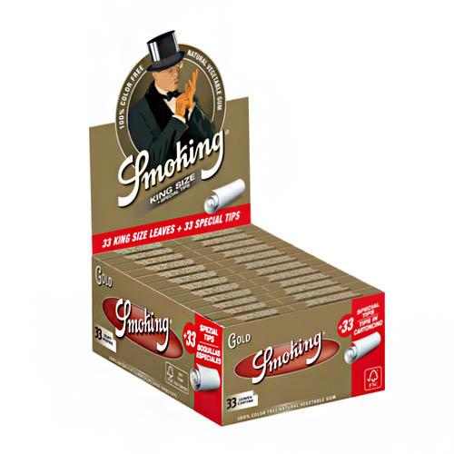 Smoking Gold vloei & Filter Tip