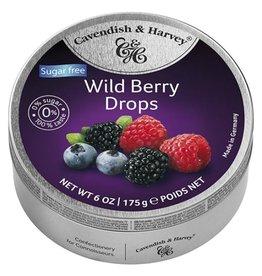 Cavendish & Harvey Wild Berry Drops Suikervrij