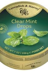 Cavendish & Harvey Clear Mint Drops