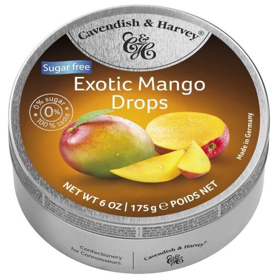 Cavendish & Harvey Mango Suikervrij