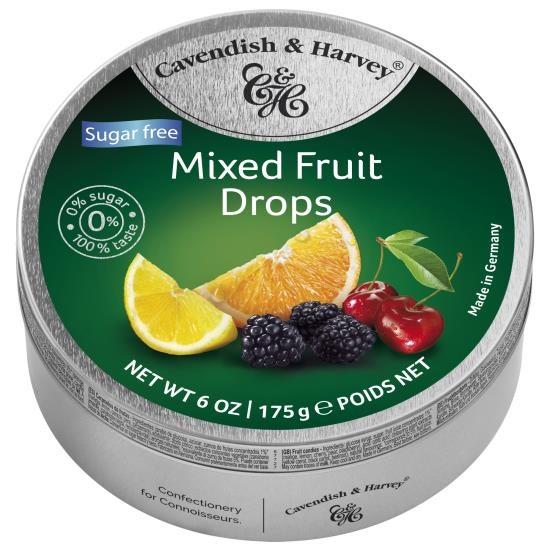 Cavendish & Harvey Mixed Fruit Suikervrij