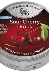 Cavendish & Harvey Sour Cherry Drops Suikervrij