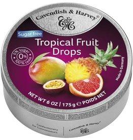 Cavendish & Harvey Sour Cherry Drops Suikervrij - Copy