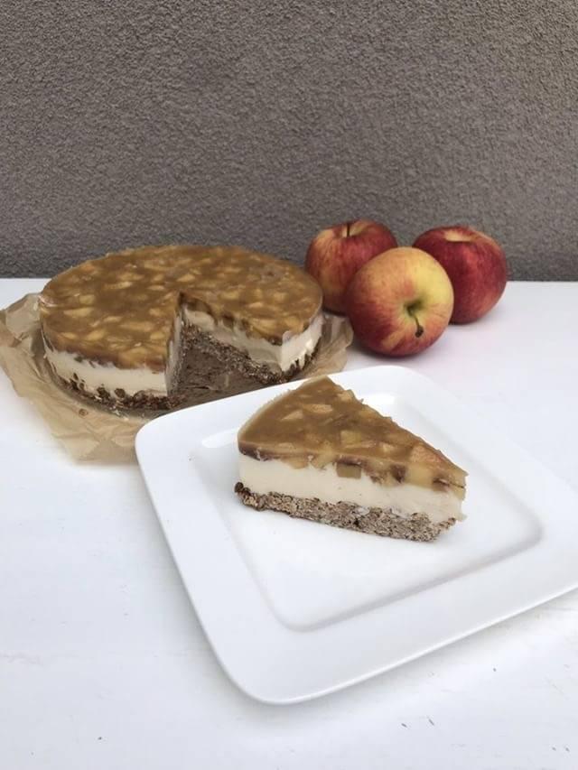 Pastel de manzana de desayuno