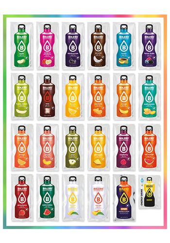 Bolero MIX PACK | TOP 24 gusti (24 x 9g)