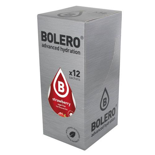 Bolero Strawberry 12 sachets with Stevia