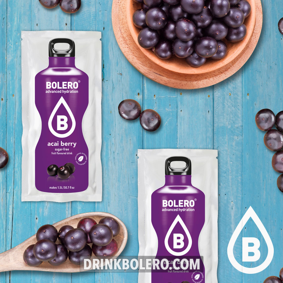 Açai Berry 24 sachets with Stevia