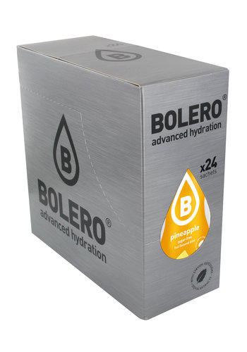 Bolero Ananas met Stevia | 24 stuks